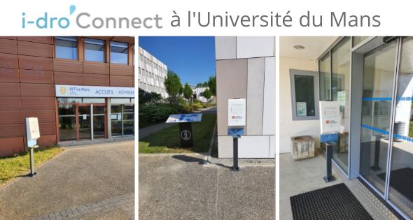 i-dro'Connect à l'Université du Mans